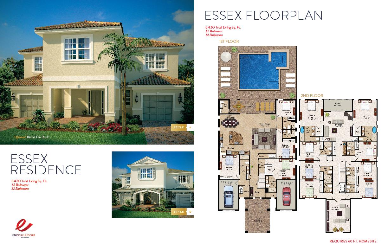 12 Bedroom Homes - Essex Residence