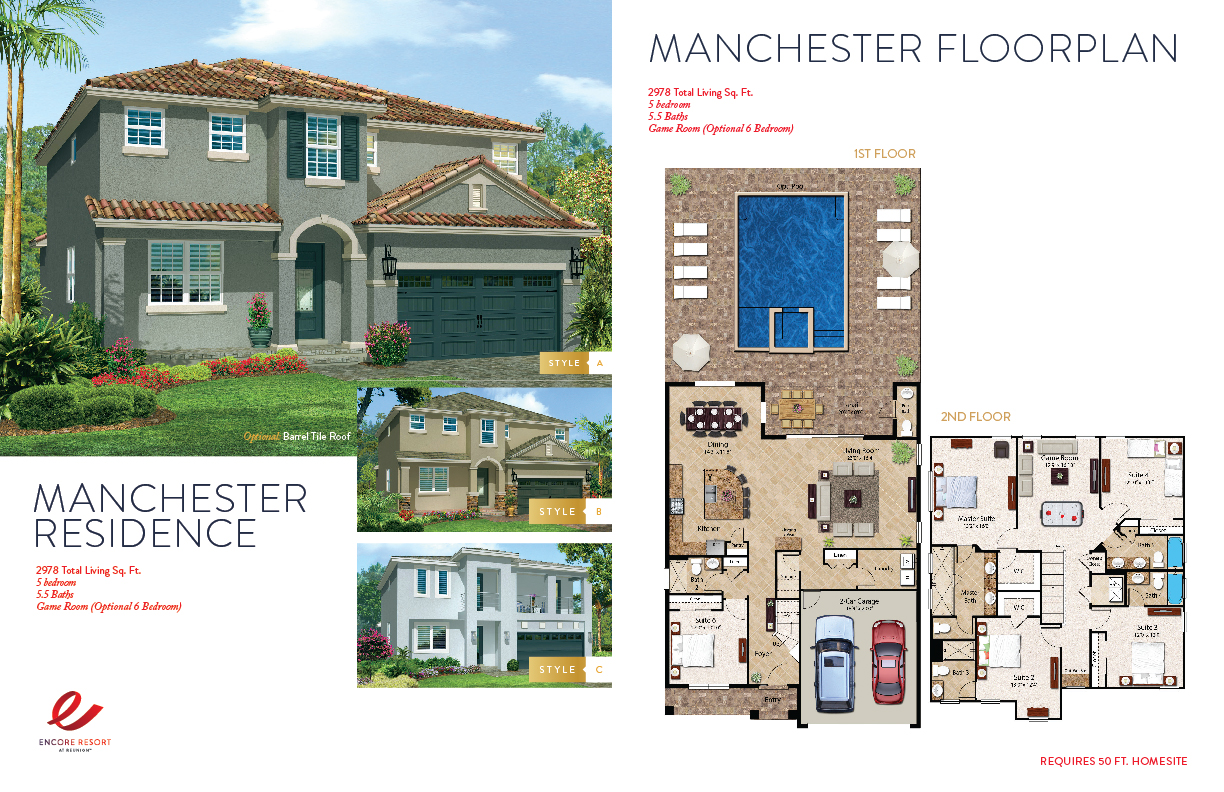 5 Bedroom Homes -  Manchester Residence