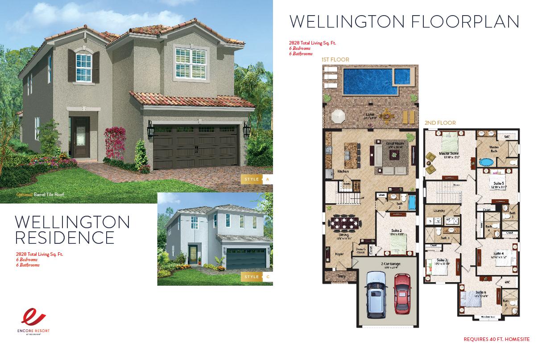 6 Bedroom Homes - Wellington Residence